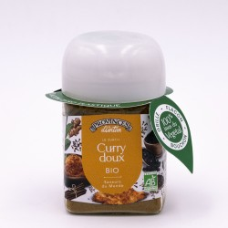 Curry doux Bio - 40g