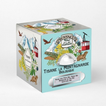 Moutain Organic Herbal Tea - 24 tea bags