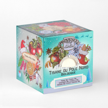 North Pole Organic Herbal Tea - 24 tea bags