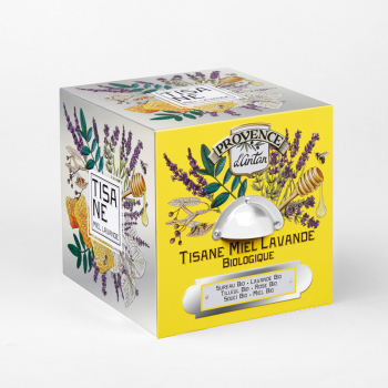 Honey Lavender Organic Herbal Tea - 24 tea bags